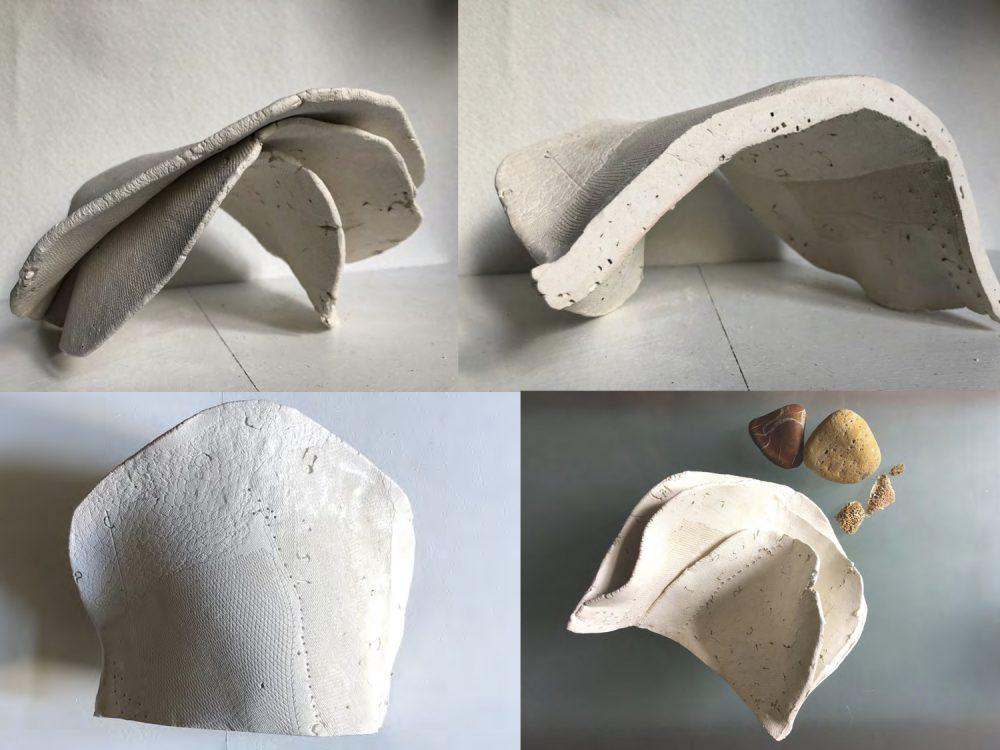 Layered ceramic form